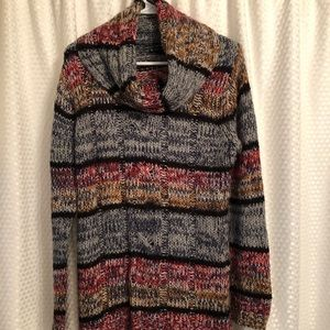 ND Cowl Neck Sweater